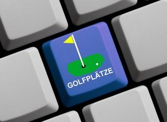 Golfplätze online