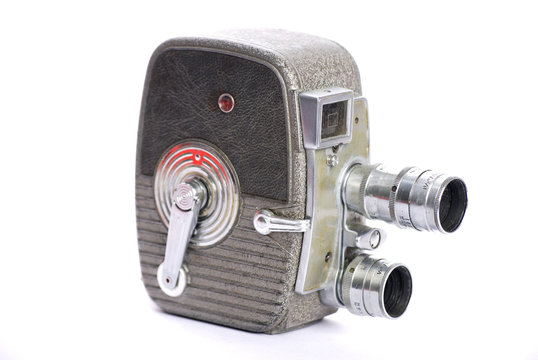 retro 8mm film camera