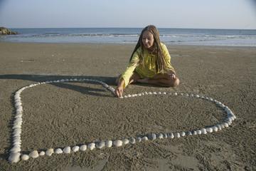 Making shell heart
