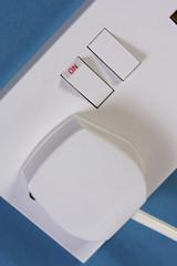 Close up of UK Plug Socket