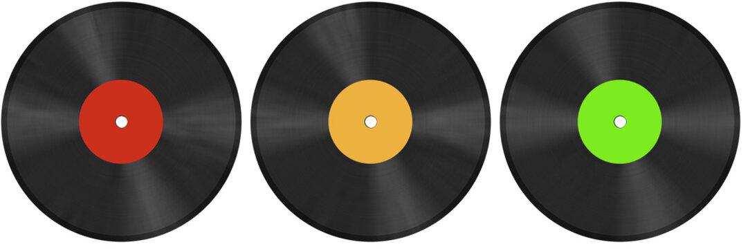 vinyl discs