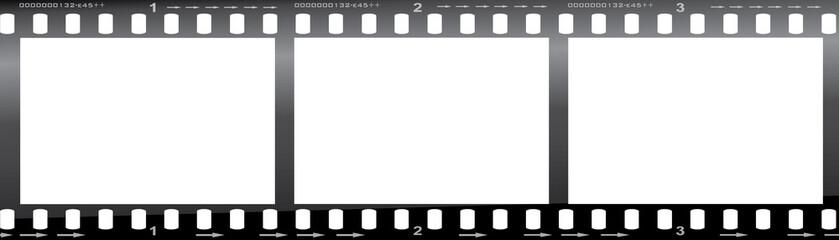 Camera Film Strip - Blank