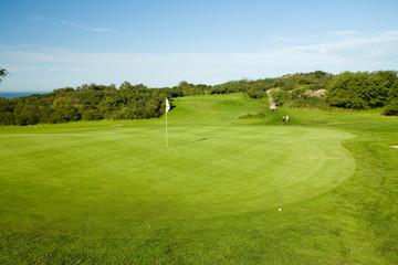 Seaside golf course in Molle, Sweden