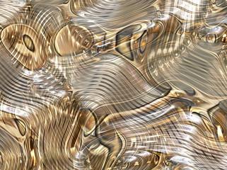 Mercury Ripple Flow Background