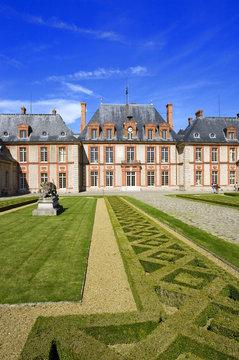france,île de france,yvelines : château de breteuil