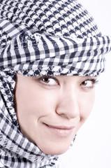 pretty arabic woman
