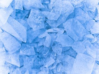 chunks of ice