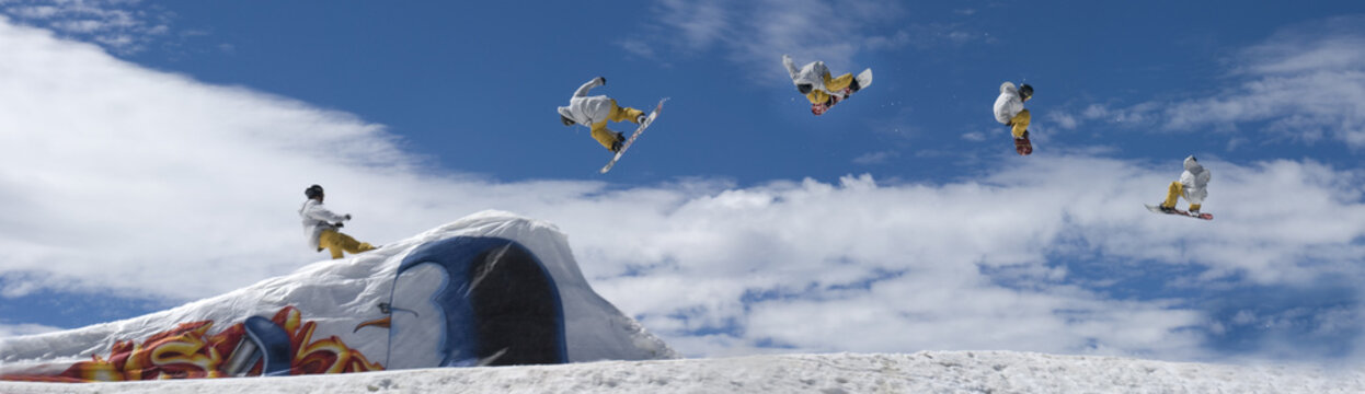 snowboarder freestile