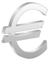Grey euro symbol