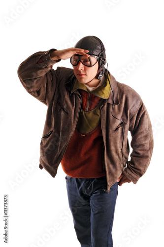 pilot uniform Old
