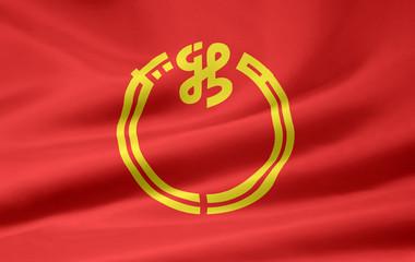 Flagge von Niigata - Japan