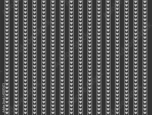 Tapete weis grau schwarz mit herzen muster stockfotos for Tapete grau mit muster