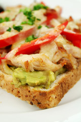 Chicken Open Grill Sandwich