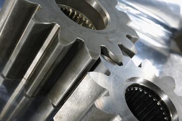gears in close-ups
