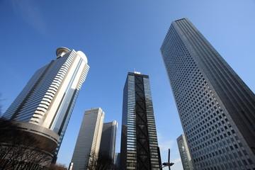 high-rise buildings in TOKYO