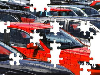 Car park jigsaw