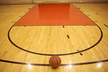 A basketball in field