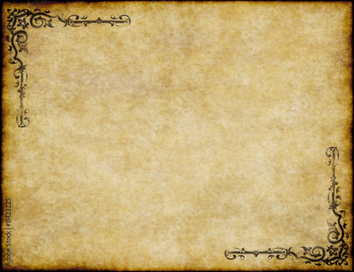 """""""great Background Of Old Parchment Paper Texture"""" Stock"""