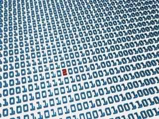 Binary code error