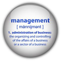 """""""management"""" definition button"""