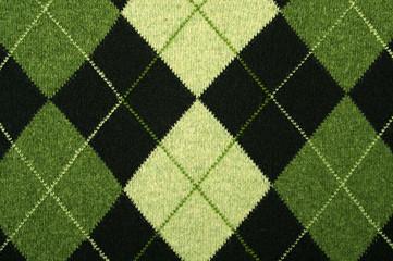 argyle pattern on a sweater