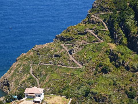 Küstenstraße auf Madeira