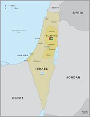 Israel Gaza Strip and West Bank
