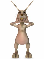 Toon Easter Rabbit