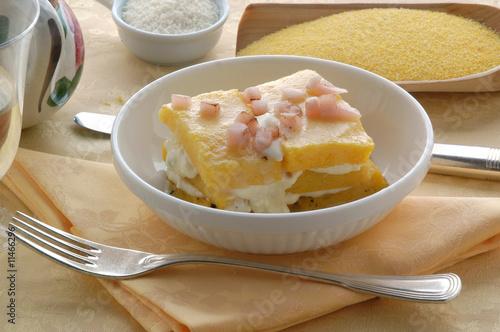 Polenta al lardo antipasti cucina del trentino alto for Cucina trentino