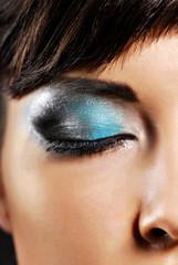 beautiful fashion make-up