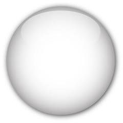 White glassy button