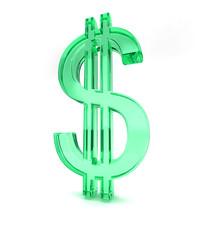 dollar 3d sign -2