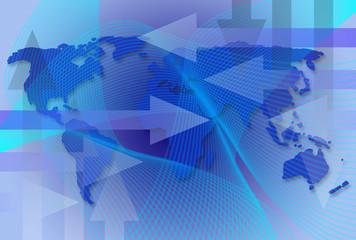 Worldwide Business Map