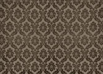 Vintage brown wallpaper