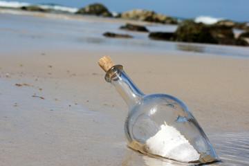 Message on thre beach