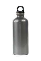 Stylish Water Bottle isolated on white