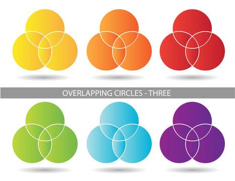 Presentation Graphics - Three Overlapping Circles