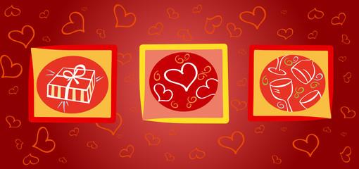 Valentinei card
