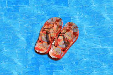 Sandales flottantes