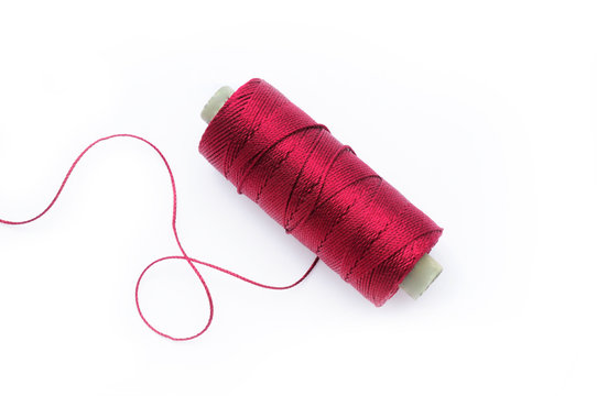 Red silk thread