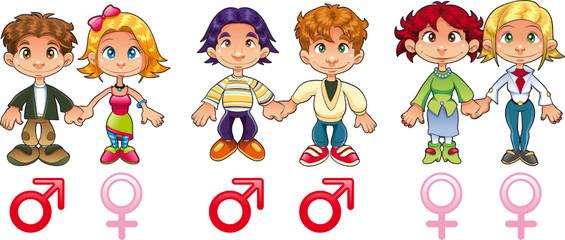 Gender - Couples