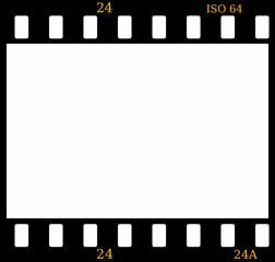 35mm Color Slide Film Frame