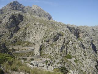 Serpintenenstraße auf Mallorca