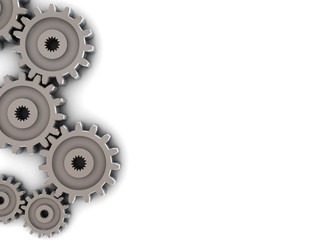 gear wheels, background