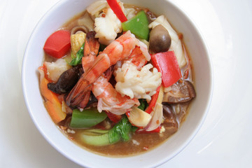 seafood from chinese named chap chai