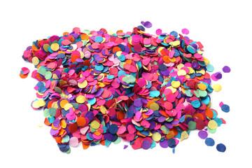 tas de confettis