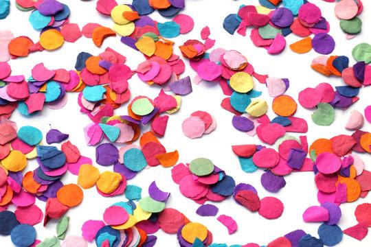 des confettis