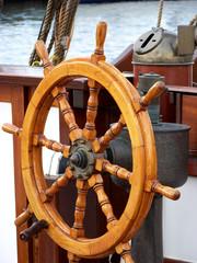 Steuerrad Segelboot