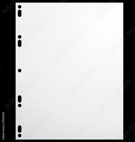 Feuille de dessin grand classeur fichier vectoriel libre - Dessin d un cartable ...