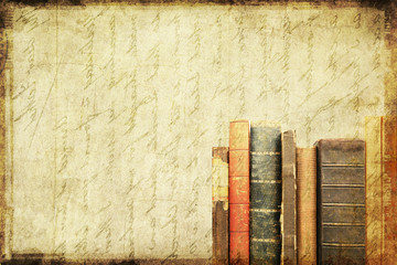 Grungy book background